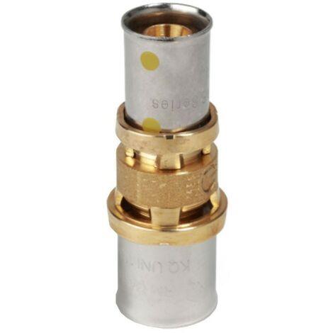 Raccord droit Giacomini réduit manchon de compression 20X16/2 RM103Y210