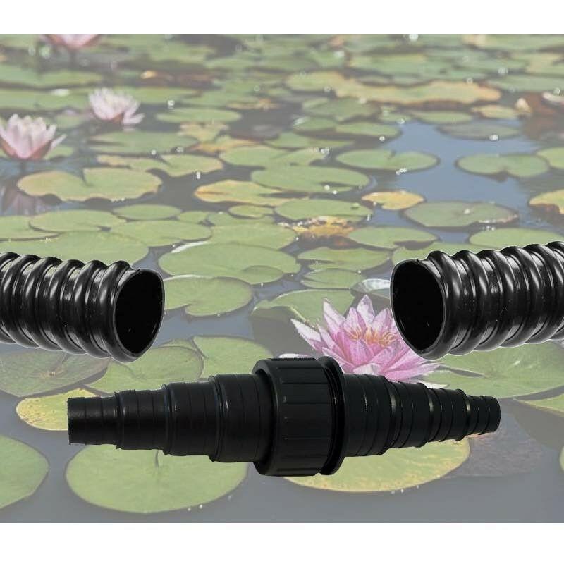 Le Poisson Qui Jardine - Raccord Droit - Manchon à Visser Pour Tuyau Bassin 20-25-32-40 mm