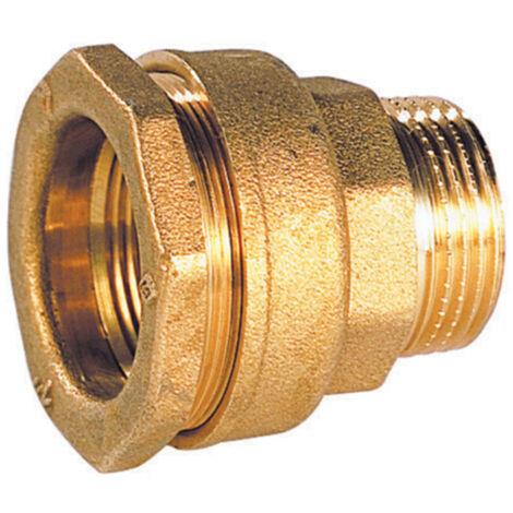 "main image of ""Raccord droit PE mâle - Diamètre : 32 - 1''"""
