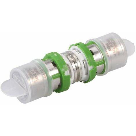 Raccord égal laiton multicouche à sertir - Ø 16 mm - Comap