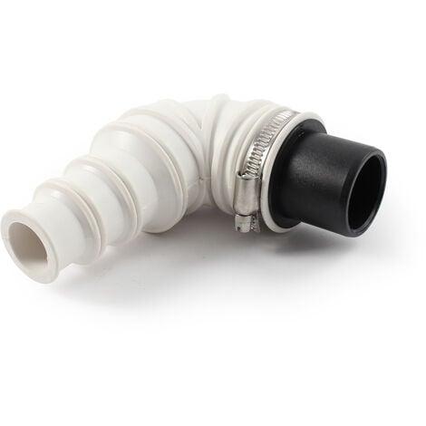 Raccord en angle 90° Clapet anti-retour DN40 collier de serrage