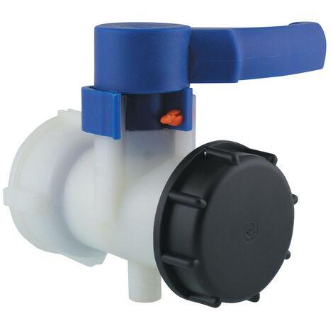 Raccord et autre accessoire pour cuve de récupération d'eau