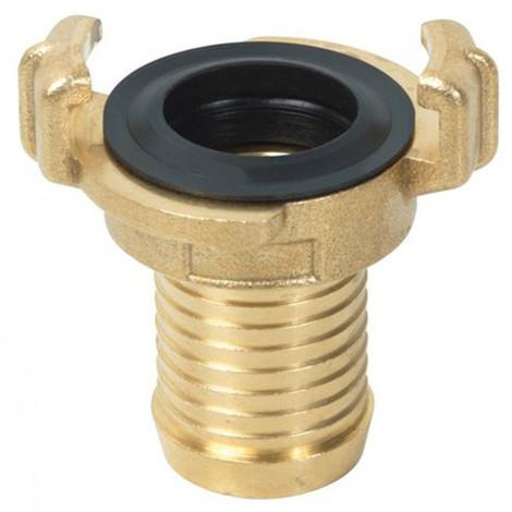 Raccord express laiton cannelé D. 19 mm - PRA/RPB.4501 - Ribiland - taille: - couleur: