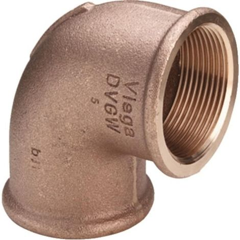 "Raccord fileté en bronze coude 90° type 3090 3/4"" femxfem W"