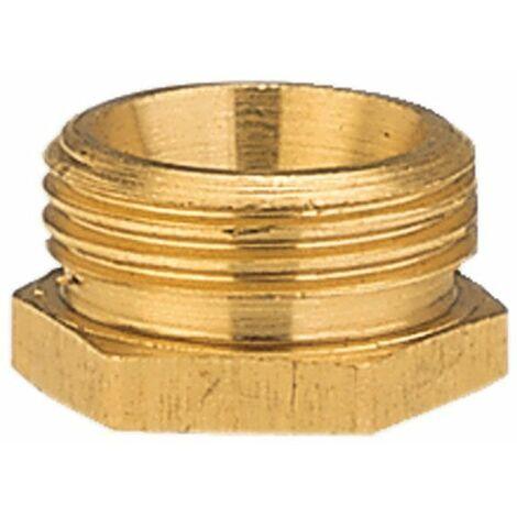 Raccord fileté réducteur GARDENA 7270-20 laiton 26,44 mm (3/4) (filet ext.), 18,7 mm (1/2) (filet int.)