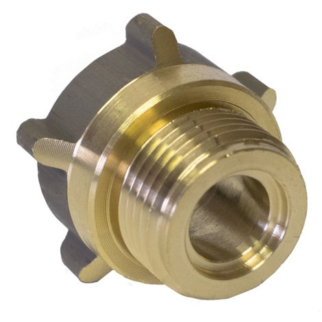 Raccord gaz b-p fer/fer MF 1p+ joint 20x150/bouteille la piece