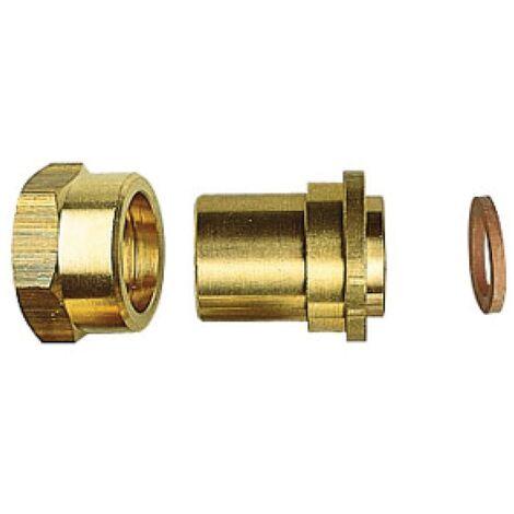 Raccord gaz butane propane 2 pièces 20x150 Femelle - à souder cuivre