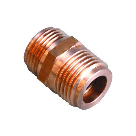 Raccord gaz butane propane 20x150 Male - Male pour bouteille 20X150