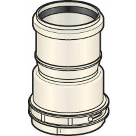 Raccord haut rigide/flexible DUALIS FLEXCONDENS pour chaudières gaz ou fioul C3B23 ou B23P diamètre 110