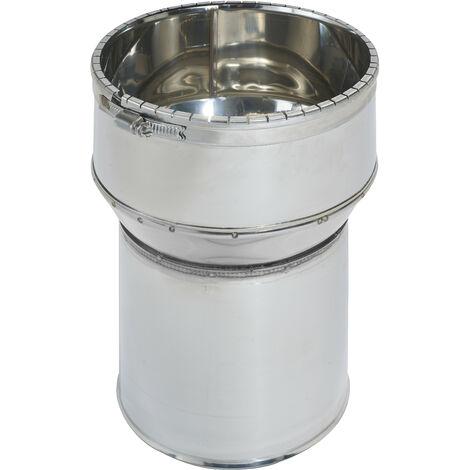 RACCORD INOX POELE TUBAGE 153/180 123153