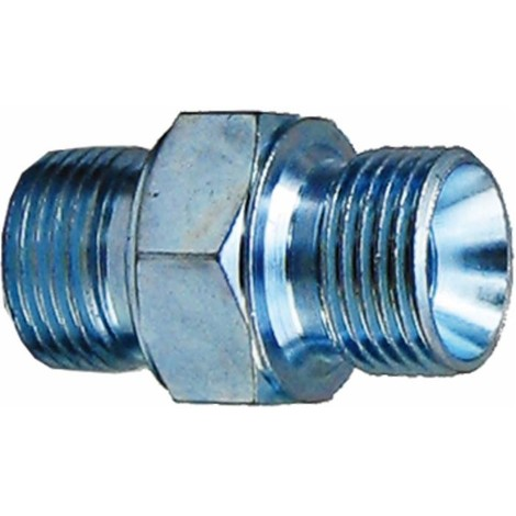 "Raccord nipple conique HP pour nettoyeuses 3/8"" M-3/8"" M"