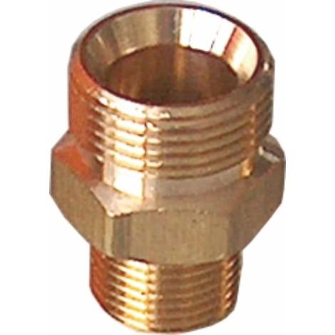 Raccord nipple haute pression pour nettoyeuses M22x1,5 M-3/8 M
