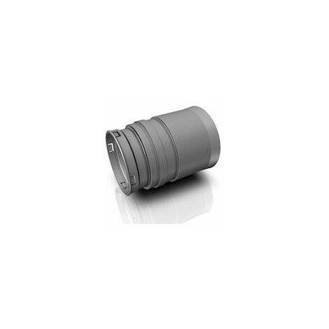 Raccord Optiflex Easyclip droit D90