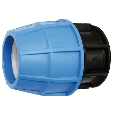 Raccord plastique tube PE Ø75 - Bouchon