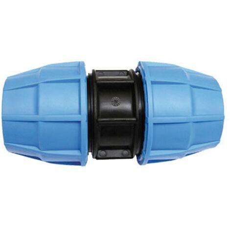 Raccord plastique tube PE Ø75 - Manchon de jonction