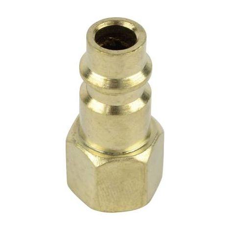 """Air comprimé Steck-mamelons NW 7,2 Avec Filetage Interne 1//2/"""" 12,5 mm laiton"""