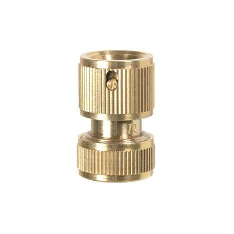 Raccord rapide en laiton pour tuyau arrosage 19 mm copie