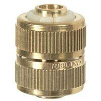 Raccord réparateur en laiton pour tuyau arrosage 19 mm