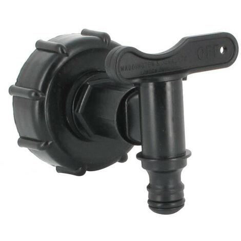 Raccord robinet pour cuve eau 1000 L PEHD - S60X6 (2 )