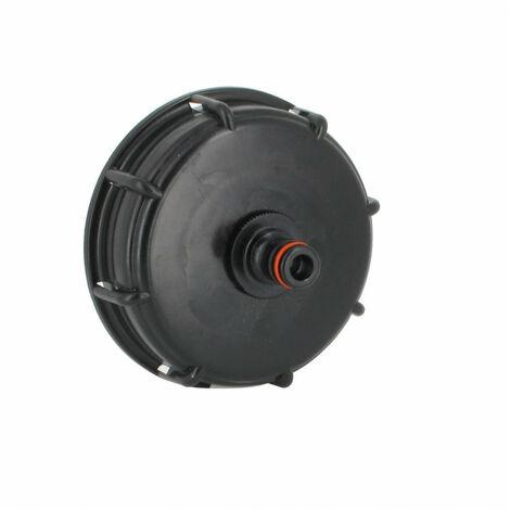 Raccord S100X8 cuve eau - Nez raccord rapide (type Gardena)