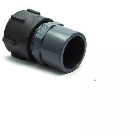 Raccord S60x6 femelle - PVC femelle 50/63 - 63mm