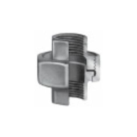Raccord union fonte galvanisé - Femelle / Femelle (G340) - Filetage 26/34