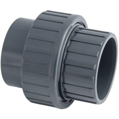 Raccord union PVC pression 3 pièces - Femelle / Femelle à coller . - Diamètre 32 mm