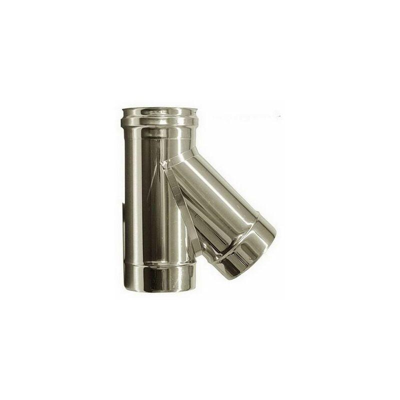 80 mm Tubo  acciaio inox 316 Canna fumaria inox giunto maschio-maschio D