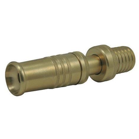 Raccords cannelés : lance maraîchère en laiton - Ø 1 pouce 1/4 x 25mm