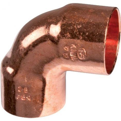 Raccords cuivre à souder coude 90° Comap
