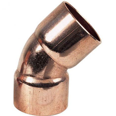 Raccords cuivre à souder diamètre standard - Coude