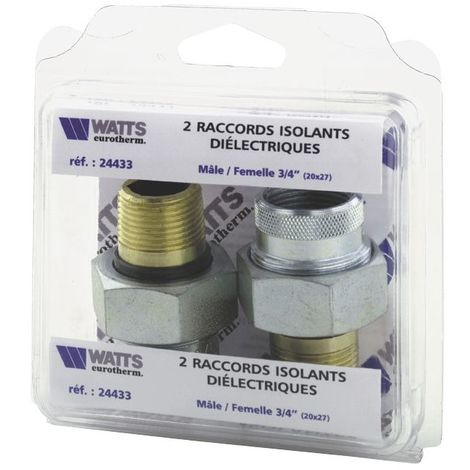 Raccords dielectriques mf20x27