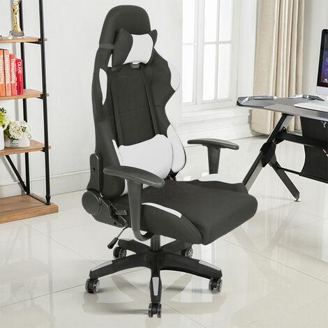 Racing Silla de Oficina Silla de escritorio reclinable Silla Gaming - Material: tela