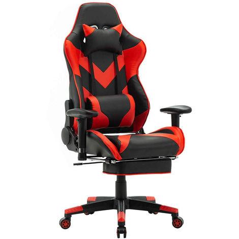 Racing Stuhl aus Kunstleder Modell BS20