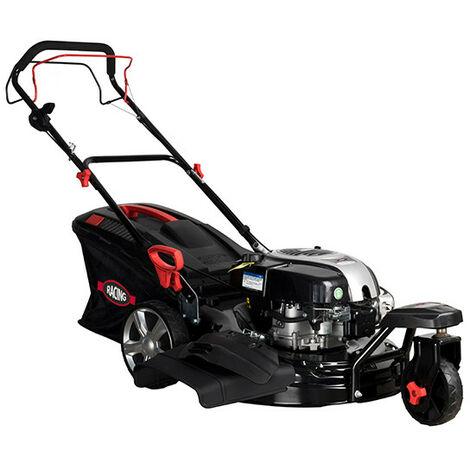 RACING Tondeuse thermique 161cm³ 51cm auto-tractée 3 roues moteur Briggs & Stratton RAC511BSRP