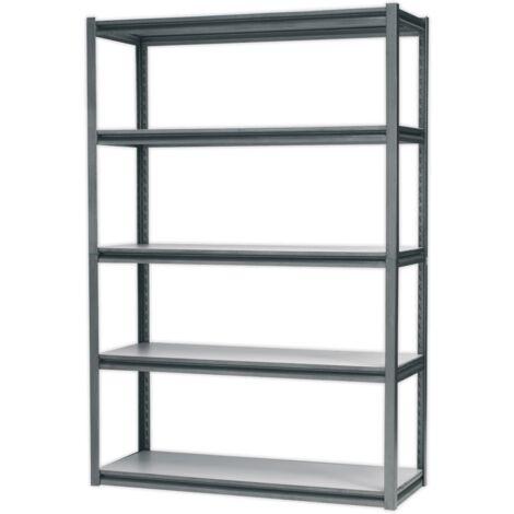 Racking Unit with 5 Shelves 600kg Capacity Per Level