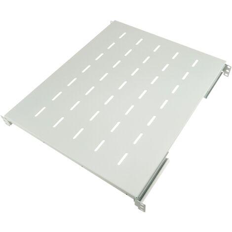 "RackMatic - Bandeja rack 19"" ajustable en profundidad 550 mm 1U blanco"