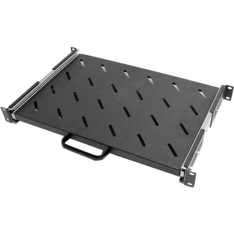 RackMatic - Bandeja telescópica para rack-19 de 1U y fondo 300mm 245-445mm