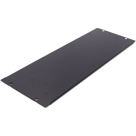 """RackMatic - Blank Rack Panel Blanking Plain Solid 4U panel cover for 19"""" rackmount cabinet"""