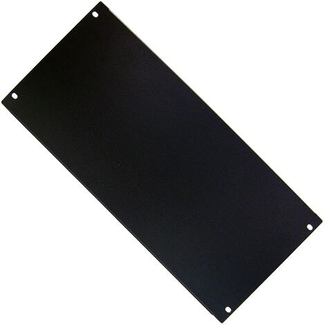 """RackMatic - Blank Rack Panel Blanking Plain Solid 5U panel cover for 19"""" rackmount cabinet"""