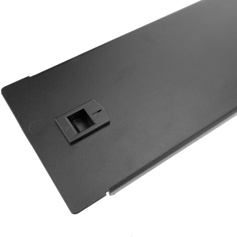RackMatic - Blind closure Panel rackmount 2U for Rack Cabinet 19 inch metal without tools