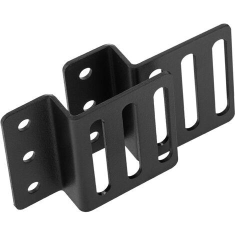 "RackMatic - Kit montaje de regleta rack 19"" de fijación vertical en armario de transporte negro"