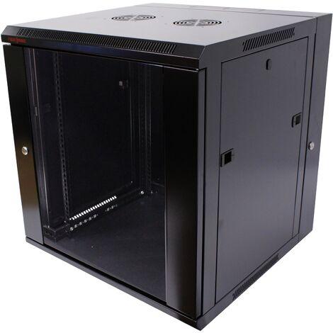 RackMatic - Rack serveur 19'' 12U 600x600x635mm armoire murale pivotant SOHORack RackMatic