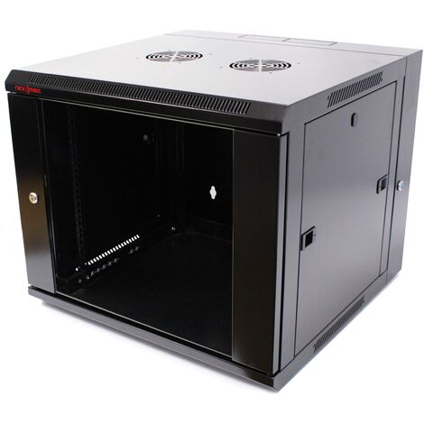 RackMatic - Rack serveur 19'' 9U 600x600x500mm armoire murale pivotant SOHORack RackMatic