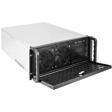RackMatic - Server case rackmount chassis 19 inch IPC ATX 4U 9x5.25 inch depth 540mm