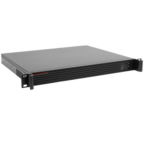 RackMatic - Server case rackmount chassis 19 inch IPC microATX 1U 2x3.5 inch depth 360mm