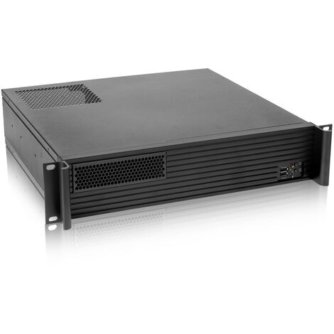 RackMatic - Server case rackmount chassis 19 inch IPC mini-ITX micro-ATX 2U 1x5.25 inch 5x3.5 inch depth 400mm
