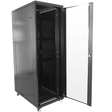 RackMatic - Server rack cabinet 19 inch 20U 600x600x1000mm floor standing MobiRack by RackMatic
