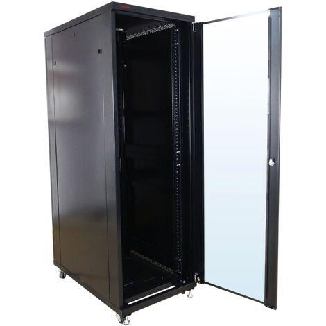 RackMatic - Server rack cabinet 19 inch 24U 600x600x1200mm floor standing MobiRack by RackMatic
