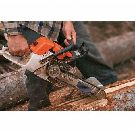 Raclette écorceuse arbre pour tronconneuse